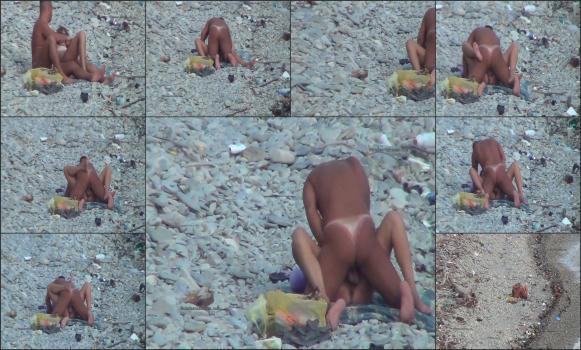 Gemischtrassiger Muschisaft Bikini Blowjob