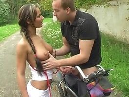 A hot cycling trip with Marilyn