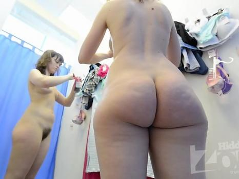 Sp2204# The girl was once again completely undressed and very good shots came from a successful angl