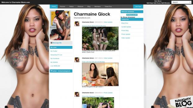 CharmaineGlock.com - SITERIP