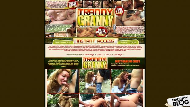 GrannyTranny.com - SITERIP