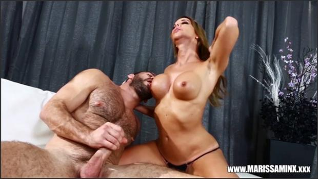 Marissa Minx in Titty Worship Facial