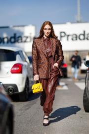 Larsen Thompson @ Milan Fashion Week (22.2.2020)