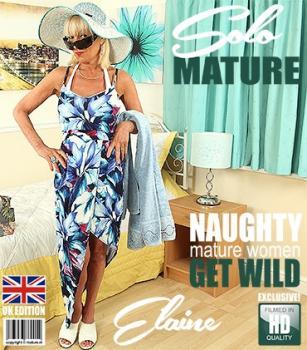Mature - Elaine (EU) (61) - British mature lady Elaine playing with a banana on holiday - Real people, beautiful girl, milf - Mature nl