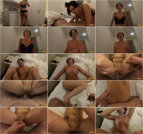 Step Mom Kitchen Fuck Creampie