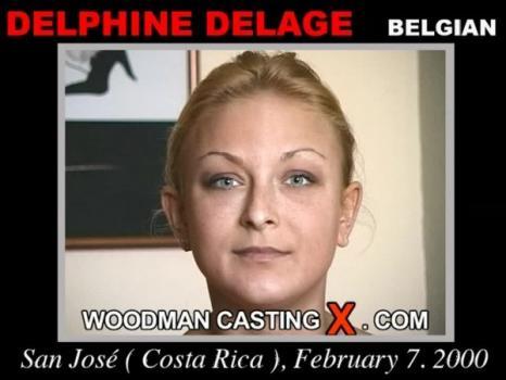 Delphine Delage casting X