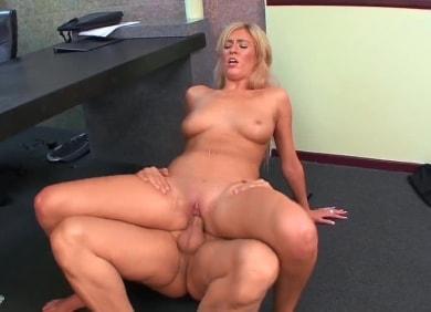 Victoria White in Busty Secretaries