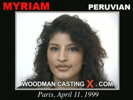 Myriam casting X