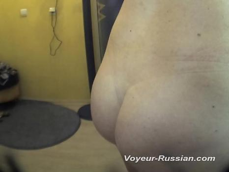 Pv402# Tanned blond undressed completely and he is going to sunbathe. Our cameraman filmed on hid
