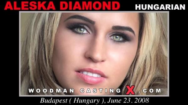 Aleska Diamond casting X