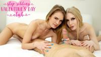 BrattySis   Emma Starletto And Natalie Knight   Step Sibling Valentines Day Club