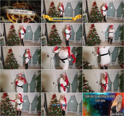 sandybigboobs - Frohe Weihnachten [HD 720P]